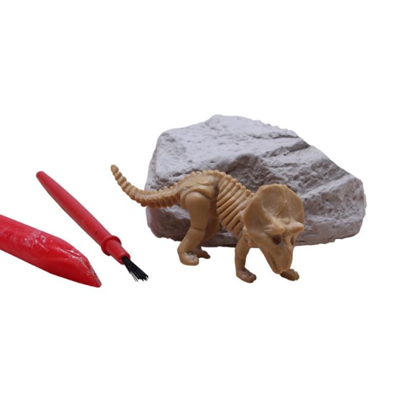 1 Set Vroeg Leren Baby Archeologische Fossielen Creatieve Kleuterschool Handgemaakte Diy Kinderen Science Experiment Speelgoed Voor Kids Om Hinder Uit De Weg Te Ruimen En De Dorst Te Lessen