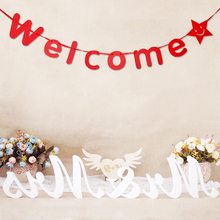 """2sets/lot """"Welcome"""" Letter Paper Garland"""