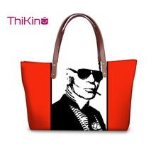 Thikin Karl Lagerfelds Handbags Women Travel Shoulderbags Wallet Girls Purse Leather Storage Notecase Cute Pet Zipper Mochila