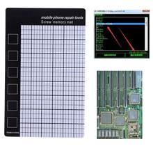 1pc磁気ネジマットメモリチャート作業パッド携帯電話の修復ツール 145 × 90 ミリメートルハンドツール卸売価格E5M1