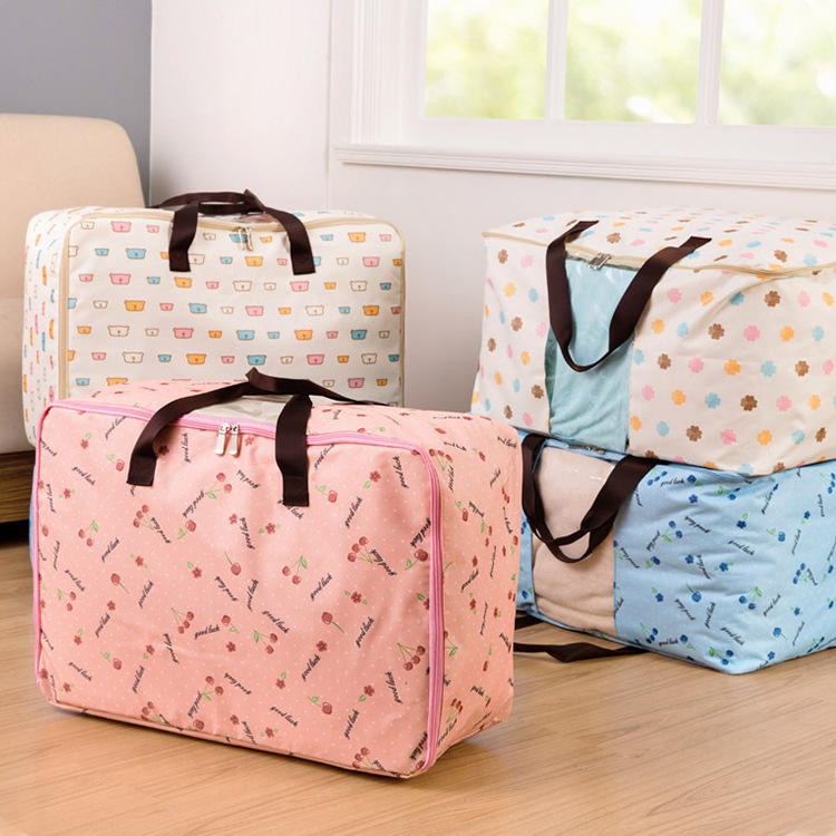 Eco-friendly Foldable Waterproof Home Storage Bag Organization Cloth Comforter underwear sock organizer Storage Bags Box