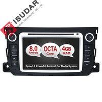 Android 8.0 два DIN 7 дюймов dvd-плеер автомобиля стерео Системы для Mercedes Benz/Smart/Fortwo Octa ядер 4 г Оперативная память WI-FI Радио FM/AM GPS