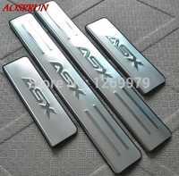 2011 2012 2013 2014 2015 2016 2017 2018 per Mitsubishi ASX RVR porta in acciaio inox batticalcagno davanzale accessori auto auto-styling