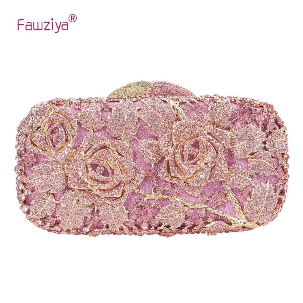 Fawziya Floral Purse And Handbags For Women Rhinestone Crystal Clutch BagFawziya Floral Purse And Handbags For Women Rhinestone Crystal Clutch Bag