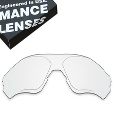 ToughAsNails החלפת עדשות עבור אוקלי EVZero טווח משקפי שמש ברור