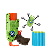 Soft Bullet Gun Kids Toys Attack Worms Large Combat Weapon Children Toy Predator Outdoor Active Game Pistol Air Gun Boys Gift