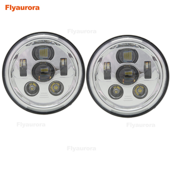 7inch led Headlights with DRL Angel Eyes w/ Amber Turn Signal lamp for Jeep Wrangler JK CJ Hummer led Projector Driving lamps