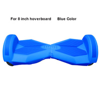 8 Hoverboard Silicone Case Protector Dustproof DIY Parts For 8 Inch 2 Wheels Balance Electric Scooter