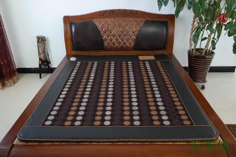 Free shipping for jade mattress jade health heated mattress jade heated carpet size 1 0X1 9M