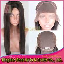 8A Virgin Hair Brazilian Lace Front Wig Natural Straight Brazilian Virgin Hair Glueless Full lace Wig For Black Women