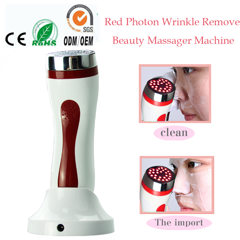 Home Spa PDT Led Photodynamic Therapy Face Neck Skin Whitening Rejuvenation Acne Freckle Wrinkle Remover Beauty Massage Machine 4color pdt led light therapy machine face beauty photodynamic lamp acne wrinkle remove skin rejuvenation spa ageless pdt therapy