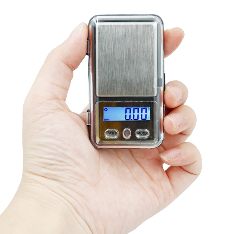 200g x 0.01g Electronic Precision Pocket Mini Digital LCD with backlight Balance Weight Diamond Gram Jewelry Scale 20% off цена