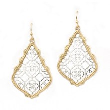 Small Teardrop Hollow Out Dangle Earrings Classic Color Filigree Water Drop Earrings For Women Fashion Jewelry  Wholesale hot selling small classic rose gold silver hollow out teardrop dangle earrings for women matte fram earrings fashion jewelry