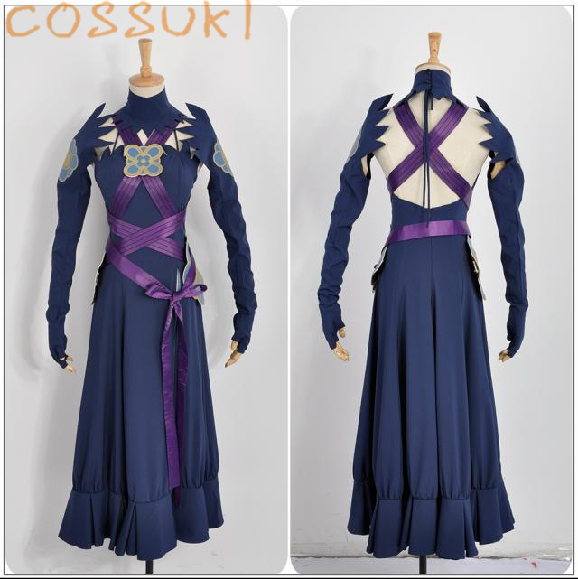 Free Shipping! Newest! Fire Emblem IF Fates Aqua Diva Night Dress Cosplay Costume ,Perfect Custom For you!