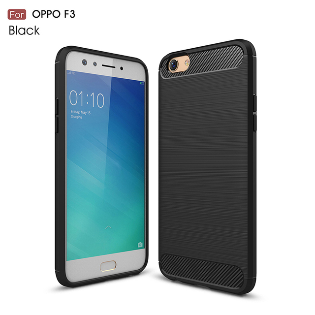 For Cover Oppo F Case Oppo F  Coque Silicone Armor Case For Oppo F Capa