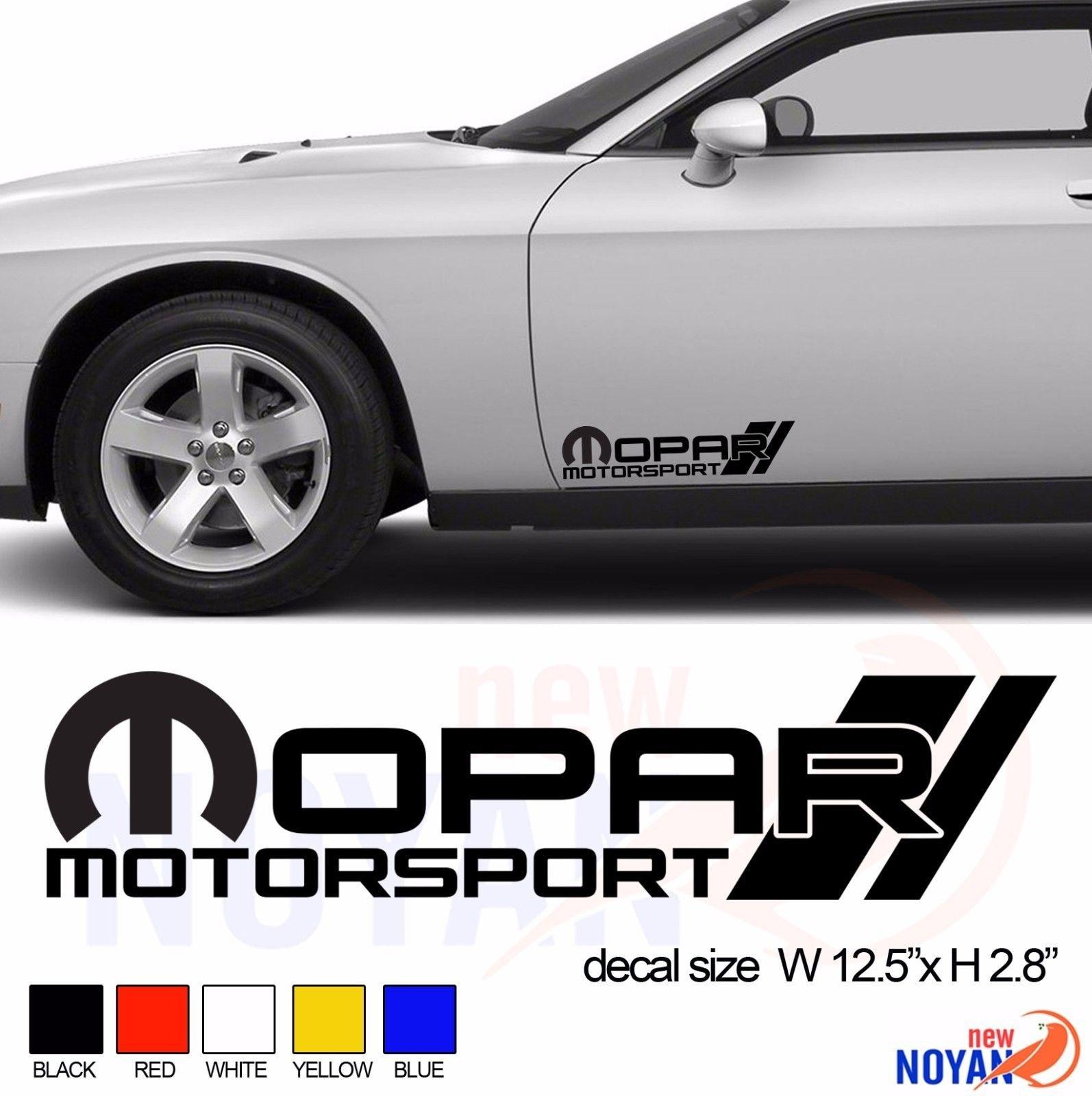 "Windows Tool Box Shop... 2x MOPAR 3/"" Black Decals // Stickers for Cars Truck"