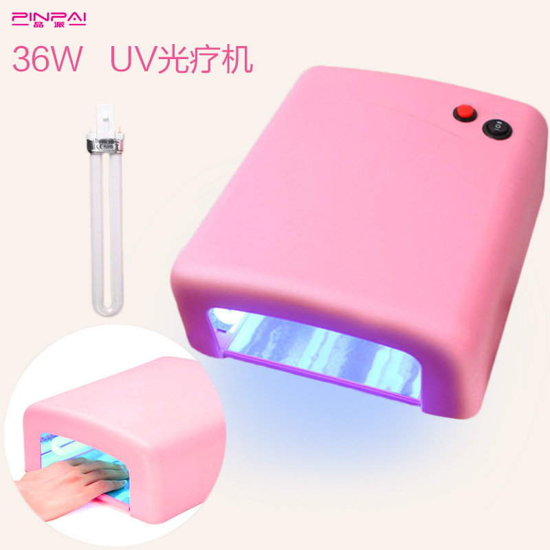 Nail lamp 36W nail machine UV Nail lamp 18 LEDs Nail dryer for All Gels with 30s/60s Perfect Thumb Solution drying machine shanghai kuaiqin kq 5 multifunctional shoes dryer w deodorization sterilization drying warmth