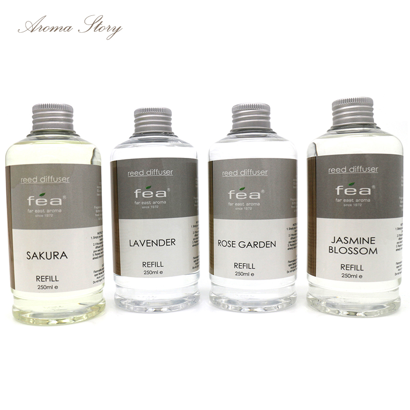 1 st 250 ml aromaterapi essentiell olja jasmin vatten, lilja, - Heminredning - Foto 4