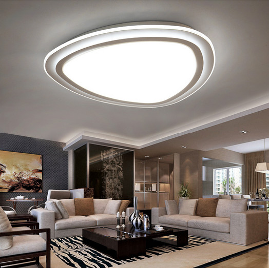 Surface Mounted Modern Led Acrylic Ultrathin Ceiling Lights For Living Room Light Fixture Indoor Lighting Home lampara de techo modern led crystal ceiling light surface mounted style ceiling lamp lighting fixture for aisle entrance corridor living room