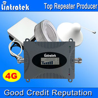 Lintratek LCD Display 4G LTE Signal Booster 2600MHz 4G Antenna Mini FDD 4G LTE 2600 Band