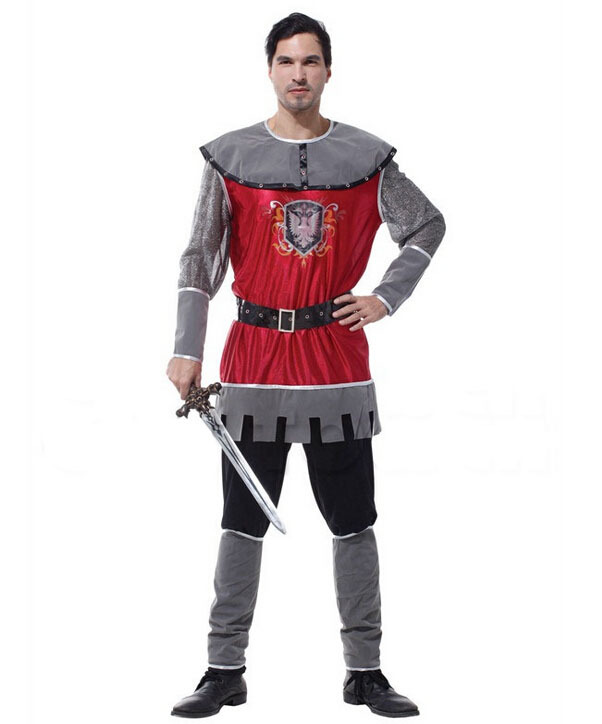 MJ Holiday Decorations Co.,Ltd Free shipping!!Classic elegant imperial Roman warriors, king cosplay, clothing a Halloween party