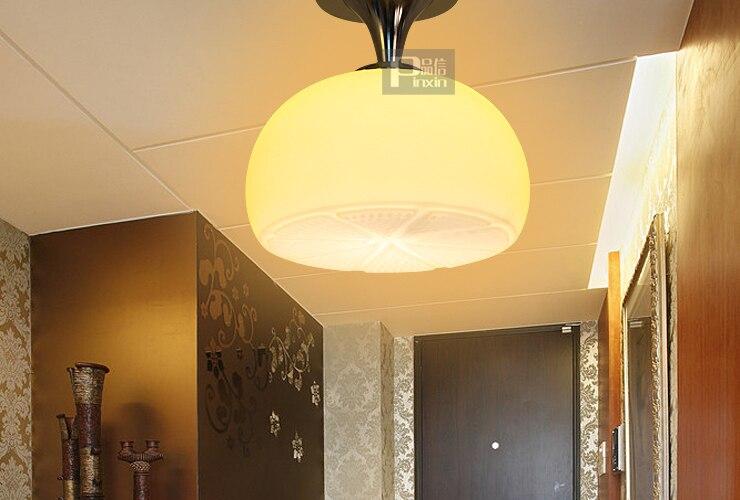 Lemon Light Ceiling Balcony Child Real Lamps