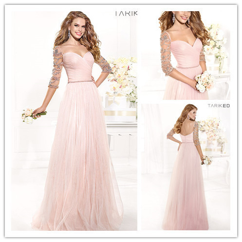 New Fashion Floor Length Custom Long Evening Dress Sweetheart Vestidos De Gala Dinner Formal