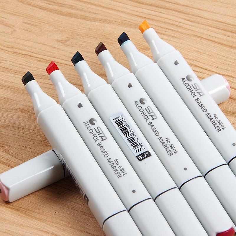 Marcadores da Arte manga dupla headed marcador esboço Art Marker Feature : Animation Architecture