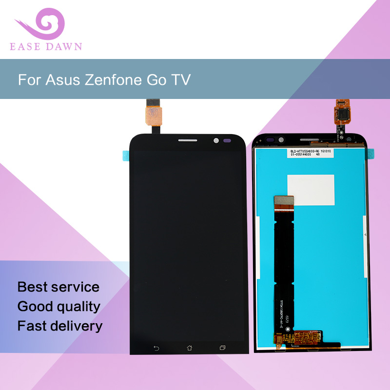 For ASUS Zenfone GO TV <font><b>ZB551KL</b></font> X013 LCD IPS SCREEN ips <font><b>display</b></font> Screen+Touch Panel Digitizer Assembly For Asus <font><b>Display</b></font> Original image