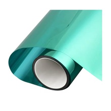 Solar Silver mirror Insulation Film Green Privacy Window Sticker one way Glass Home bedroom Building 50*600cm