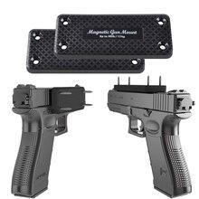 36lbs 총 마그네틱 홀더 홀스터 자석 권총 소총 숨겨진 자동차 홈 안전 테이블 아래 무료 배송 총 홀더로드 사냥