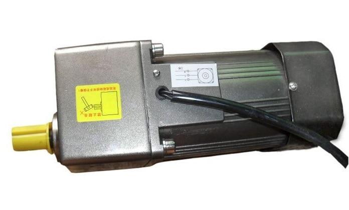 все цены на AC 220V 180W Single phase Constant speed motor with gearbox. AC gear motor, онлайн
