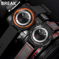 BREAK photographer luxury brand men lover's brown leather strap fashion sport casual waterproof quartz watches gift for women