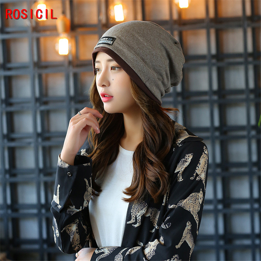 ROSICIL Beanie Hats For Women Beanies Autumn And Winter Brand Knitted Hat Turban Diamond Skullies Hip-hop Caps Stocking Ladies rosicil skullies beanies winter hats for women letter beanies women hip hot caps skullies girls gorros women beanies female