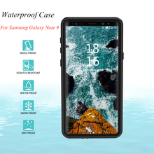 IP68 Waterproof Case for Samsung Galaxy Note 9 360 Full Cover Protection Underwater Shockproof