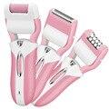 Новый прибыл 3 в 1 Аккумуляторная Электрическая женщины тела для удаления волос Леди Эпиляторы Удаления Волос Для Женщин бикини clipper