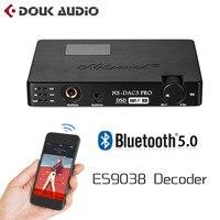 Nobsound Mini ES9038 XMOS Coaxial Optical CSR8675 Bluetooth5.0 APTX HD USB Dop DAC Headphone Amplifier Digital Analog Converter