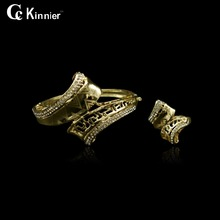 Fashion Wedding Bridal beads Dubai gold-color beautiful women cuff delicate wedding bracelet beautiful Birthday gift Jewelry