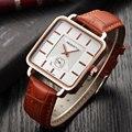 2019 novo rebirth relógio masculino marca de luxo relógio de pulso quadrado relógio de couro masculino relógio de negócios relogio masculino saati