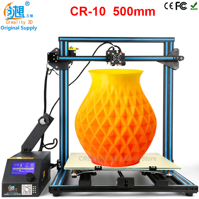 CREALITY 3D CR 10 Large Size 300 300 400mm Cheap 3D Printer DIY Kit With Aluminum