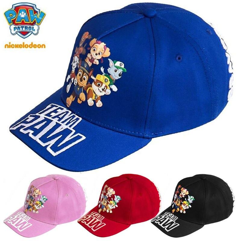 2019 primavera genuína pata patrulha perseguição skye plana hip hop snapback boné crianças moda chapéu de sol crianças brinquedo aniversário presente natal