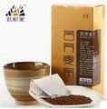 1set (200g ) Buckwheat tea bags black buckwheat tea gold buckwheat tea plantule full