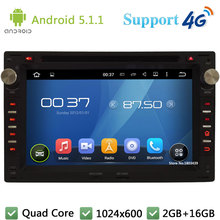 HD 1024*600 Quad Core Android 5.1.1 Car DVD Player Radio Stereo for VW PASSAT B5 Golf 4 Polo Bora Jetta Sharan Transporter T4 T5
