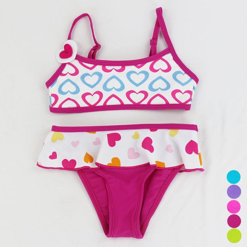 bambino neonato swimwear del costume da bagno bikini costume da bagno due pezzi del fumetto costume