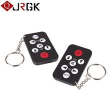JRGK For Samsung Wholesale Universal Infrared IR TV Control Portable Mini 7 Keys Ring Keychain Wireless Smart Remote Controller