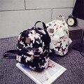Женская Рюкзак Горячая Продажа Моды Причинная Цветочный Печати Рюкзаки Кожа PU Рюкзак Для Подростков Девушки Mochilas MujerBolas