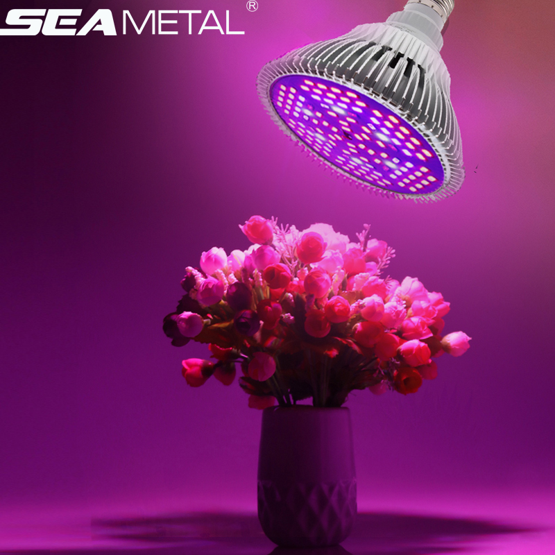 Fitolamp Grow Light E27 Lights Bulb For Plants 10W 30W 50W 80W Full Spectrum Phyto Lamp Led Hydroponics Flowers Growing Lamps