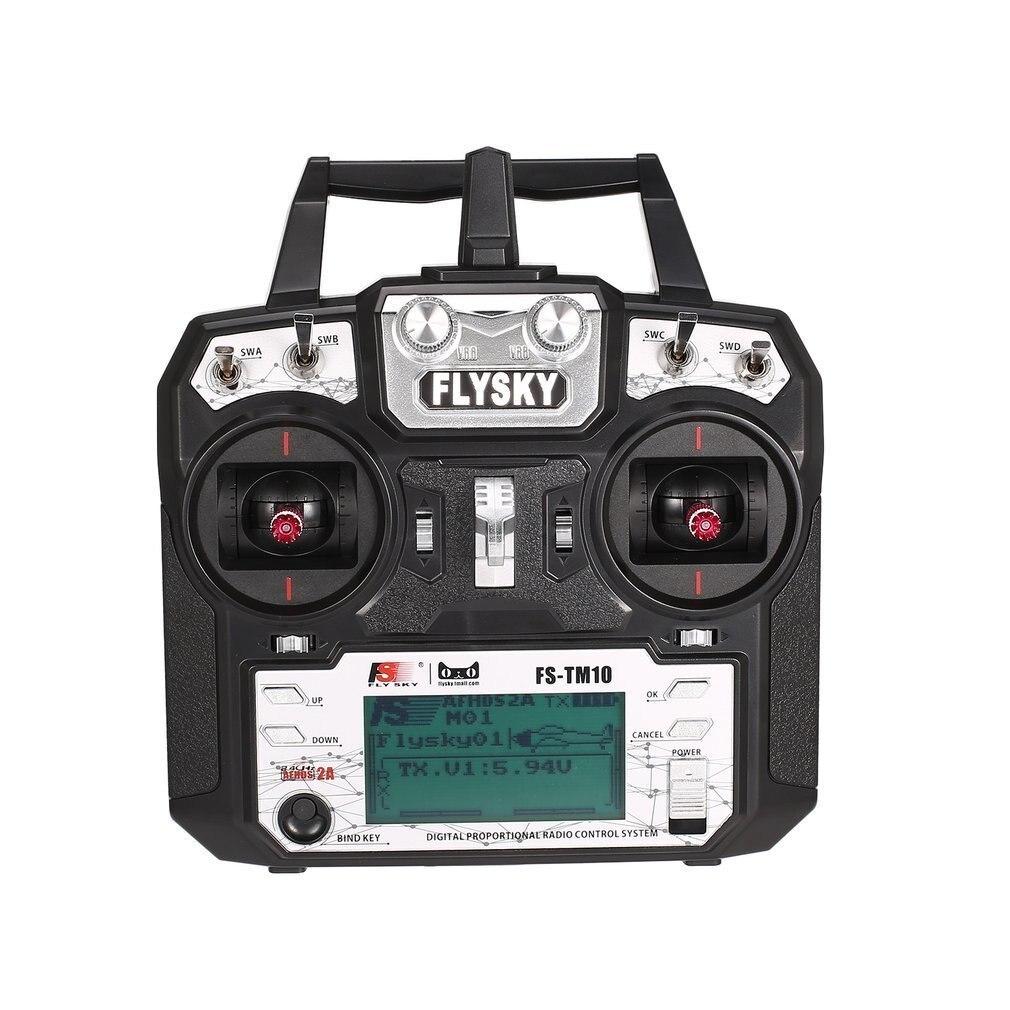 Flysky FS-TM10 FS-i6X 10CH 2.4 GHz AFHDS RC transmetteur Radio modèle télécommande système avec récepteur de FS-IA10B