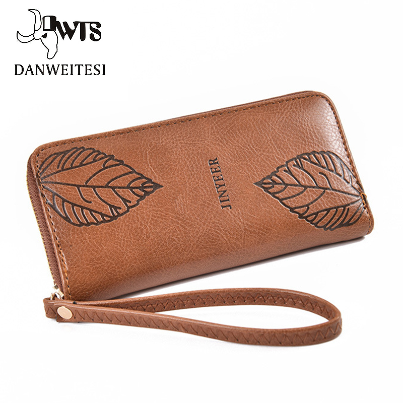 [DWTS]wallet Women Fashion Long Clutch Large Capacity Wallets Female Purse Lady Purses  Pocket Card Holder Women Wallets