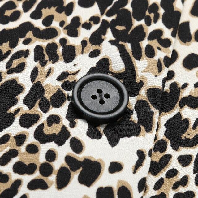 2018 New Casual Leopard Coat 5